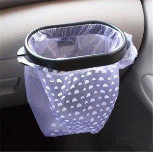 envío libre bolso de basura nuevo diseño del coche del sostenedor del estante de almacenamiento en rack del lechón de la basura de la basura bolso de la suspensión del coche desmontable Bin suspensión de la cinta adhesiva