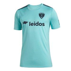Version thaïlandaise de qualité maillot de football pour hommes MLS DC United 2019 Parley 2019 2020 maillot de football pour hommes Parley DC 19 19 20 MLS DC United maillots de football pour hommes