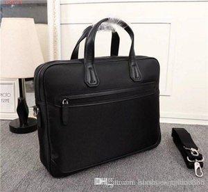 2019 Новейшие классические классические сумки, черные, с большой вместимостью, мужские сумки, размер 38-8-30 см.