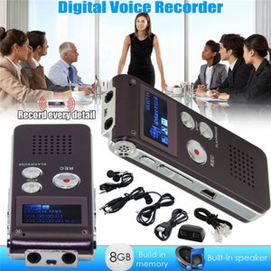 2019 New Rechargeable 8GB Digital Audio Sound Voice Recorder Dictaphone MP3 Player