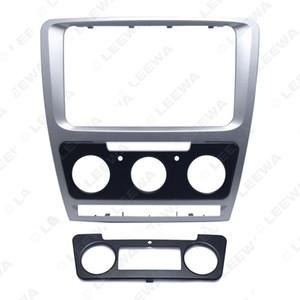 FEELDO Araba Radyo Stereo 2DIN Alınlık Paneli Takma Çerçeve Facia Trim (10 ~ 13) # 3758 Dağı Kiti İçin Skoda Octavia yükleyin