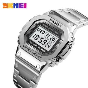 wholesale Sport Watch Men G-Style LED Digital Watches Full Steel Shock Waterproof Chronograph Alarm Clock Outdoor Men's Wristwatch