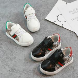Zapatos de diseño para niños 2020 zapatos de los niños de la manera Tendencia Niños Casual Zapatos del modelo de estilo coreano de costura para bebés