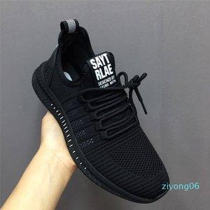 Fashion Men Sneakers Mesh Casual Shoes Lac-up Men Shoes Lightweight Vulcanize Walking Sneakers Zapatillas Hombre z06