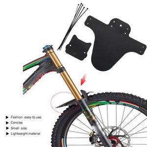 2019 MTB Mudguard Bike Front Back Mud Guard Marsh Fender Slim Fork Simple Fender vtt velo accessoires Mounting Placement