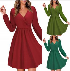Derniers commentaires sur Express vêtements pour les femmes coréennes fabricant de vêtements Maxi Combinaions col en V profond robes pour les femmes D099