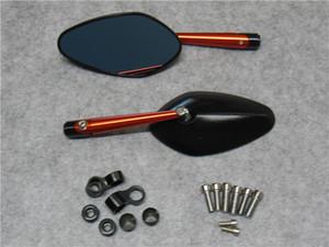 Modifiziertes Motorrad Zubehör modifizierte Aluminiumlegierung Rear View Mirror CNC Druckgießende Schildkröte König Rückspiegel Universal-Modelle