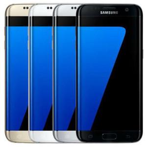 """تم تجديده الأصلي سامسونج غالاكسي S7 حافة G935F G935A G935T G935V G935P 5.5 """"رباعية النواة 4GB RAM 32GB ROM 12MP 4G LTE موبايل تليفون DHL 1PC"""