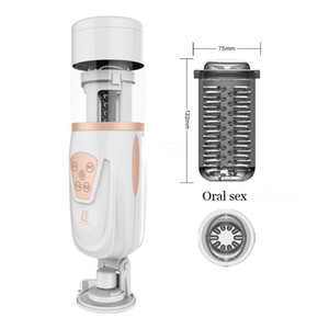 Adult Male Masturbators, Toys Sex Machine, Rotating And Sex Electric Automatic Telescopic Easy Retractable Love For Men Lyy043 Y190713 Tbmm