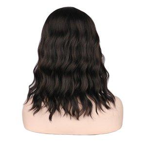 Turecolor Парики Короткие Вьющиеся Парики Для Чернокожих Женщин Черный Natrual Термостойкие Синтетические Парики Волос
