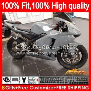 Injeção novo molde para Honda CBR600RR cinza brilhante CBR600 RR 2005 2006 80HC.26 CBR600F5 CBR 600RR 600F5 05 06 CBR 600 RR F5 05 06 Fairing OEM