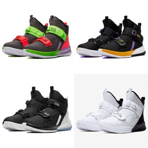 2020 New Soldier 13 Laker Basketball Shoes For Sale Best Quality James 17 Boys Men Sport Sneakers US size 40-46