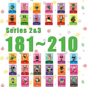 Animal Crossing Carta amiibo Stampato NFC carta di ritiro compatibile della serie 2Series Elenco 3 (181-210)