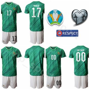 Euro 2020 Eurocopa Soccer Northern Ireland 8 Steven Davis Jersey Set 10 Kyle Lafferty 21 Josh Magennis 17 Paddy McNair Camisa de futebol Kits