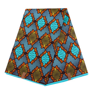 Handworking 재봉 앙카라 아프리카 폴리 에스테르 왁스 인쇄 패브릭 2019 Binta 리얼 왁스 높은 품질 6야드 아프리카 직물