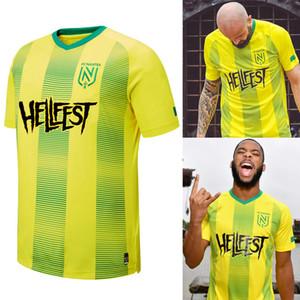 2019 2020 FC Nantes adultos edición especial camisetas de fútbol de la camisa casa amarilla 19 20 FC Nantes camisa Hombres Sala de Ejecución jerseys