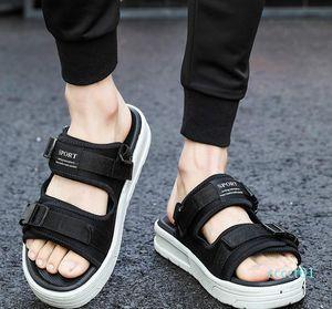 designer Slippers compile Slippers Summer men shoes flip flops for loose-fitting men beach slippers rubber flip-flops outdoor sandals ct1