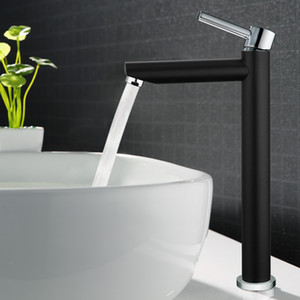 Tall bath Sink faucet bathroom slim hot and cold Chrome/White/Gold basin water mixer tap bathroom sink faucet High Quality
