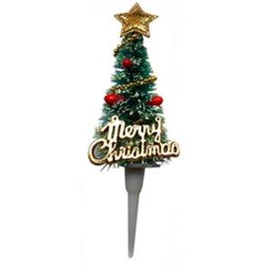 Cena criativa da grinalda do Natal Decoração Plugin 3D Bolo Decorar Com o Natal Atmosfera Árvore de Natal Bolo Plugin DHL Q89