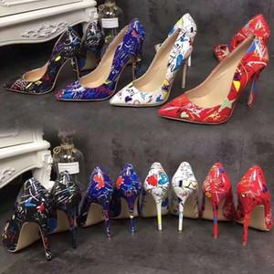 2020 modèles repèrer explosion chaussures simples pointaient la bouche pointue peu profonde talons de fantaisie audacieux de haute européens et américains ainsi que la taille des chaussures pour femmes