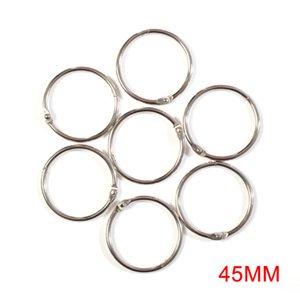 12pcs set Silver Rings Metal Hooks Curtain Shower Hanger