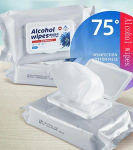 Alcohol Wipes Wet Wipe Portable Disinfecting Wipe Cleaner Sterilization Disposable Wipes