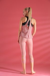 Green Yoga Pant Jinv Slim-Looking Short-Sleeved Yoga Suit Sports Quick-Drying Fabric Fitness Suit Tight Professional