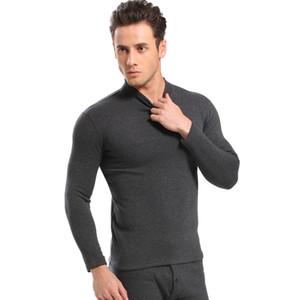 New thermal underwear set mens long johns male Autumn winter shirt+pants 2 piece set warm thick plus size M-XXXL