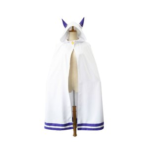 Hot Anima cosplay From Re:Life in a different world from zero Cape Cloak Emilia Cat ears Cape Cloak Cosplay Costumes