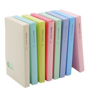 Business Card Storage Book Portable 120 Into The Korean Version Of The Creative Business Card Storage Book Business Card Holder
