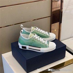 2020 Hot Couple style high-top espadrines, imprimé et coloré bas-top lacets, chaussures casual sport à fond plat avec boîte à chaussures d'origine