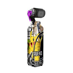 Graffiti Booming Sticker Decals Skin Protective Film Waterproof Handheld Camera Accessories for DJI OSMO Pocket Skin Sticker