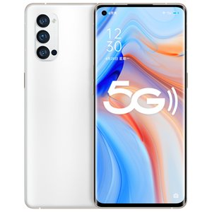 """Original Oppo Reno 4 Pro 5G Mobile Phone 12GB RAM 256GB ROM Snapdragon 765G Octa Core Android 6.5"""" 48.0MP NFC Face ID Fingerprint Cell Phone"""