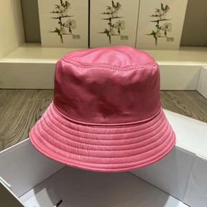 Cap plegable de 6 colores diseñador de la marca Cloch unisex Tacaño Brim sombreros respirable ocasional Equipada sombrero del cubo de la moda de lujo Pescador Playa visera