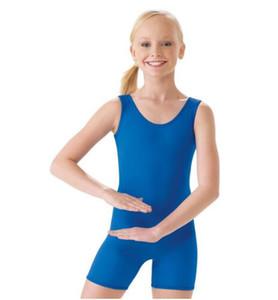 Femmes De Base Sans Manches Tank Biketard Enfant Gymnastique Justaucorps Filles Spandex Lycra Danse Unitard Enfants Ballet Justaucorps Tout-Petits
