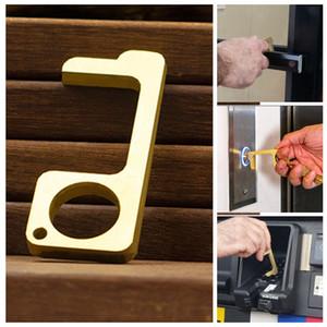 Touchless Strumenti attrezzi di apertura sportello pulsanti Press ascensore campanello Drawer Handle protettivo Assistente sicurezza Evitare tocco ascensore BH3171 TQQ