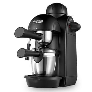 Electrodomésticos de cocina Cafetera italiana Doméstica Pequeña bomba de vapor semiautomática italiana Presionar espuma de leche