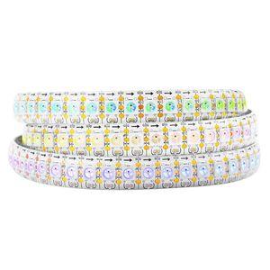 RGB 개별적으로 주소 LED 스트립 WS2812B 5V LED 스트립 조명 드림 컬러 유연한 LED 픽셀 로프 빛 방수 IP30 / IP65