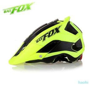 Al por mayor-BATFOX 2018 más nuevo del casco de ciclista Casco de Ciclista para MTB bike cascos de Ciclismo M / L (56-62) moto CM