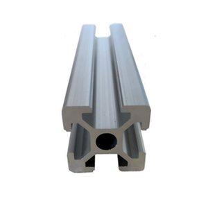2020 Perfil de alumínio da extrusão comprimento 100-1000mm CNC Parts Europeia anodizado Padrão Linear Rail para a máquina router cnc