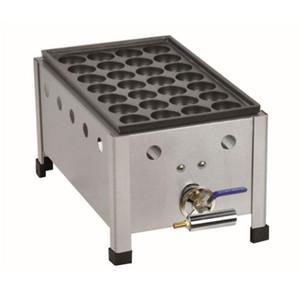 ENVÍO GRATIS Comercial Takoyaki Grill máquina máquina de bolas de pulpo antiadherente de gas fabricante de Takoyaki Takoyaki Pan Máquina