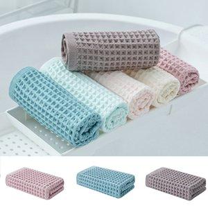 Cotton Fiber asciugamano Plaid Viaggi tovagliolo di bagno Assorbimento di acqua a rapida essiccazione soft MYDING