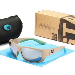 mens designers sunglasses costa sunglasses Tuna Alley 580P Polarized women sunglaes fashion Surf Fishing glasses TR90 & Silicone frame
