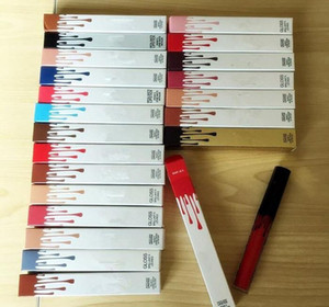 12 Renkler Mat Seksi Sıvı Dudak Mat Lipsick Uzun Suya Kozmetik Güzellik Makyaj 24 Saat Lipgloss tutun Kalıcı
