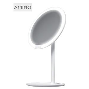 Amiro HD Nuovo trucco dello specchio specchio luce del giorno di ricarica USB Vanity compongono Specchi Lampada Salute Bellezza CX200630 regolabile
