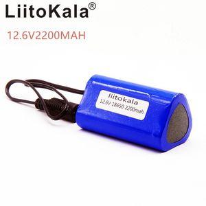 Baterias Packs HK LiitoKala alta qualidade 12V 2200mAh 18650 bateria de lítio recarregável portátil para câmera de CCTV GPS meados 2200 mAh