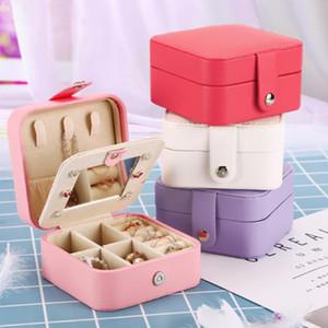Fashion Multifunctional Jewelry Organization Box Ring Box Tray Storage Ring Display Engagement Wedding Case Holder Jewelry