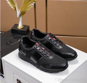 2019 chaussures haute couture luxe des chaussures plates de la marque Arena classique en cuir sport pour hommes chaussures hommes dentelle décontractée et sacs poussière xg18051601