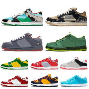 NIK Top quality 2020 sb dunk low Chunky Dunky NYC Pigeon women running shoes Paris University Red luxury mens trainers designer sneakers off