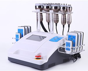 Body Slimmingmachine Vacuum Cavitation RF Cellulite Reduction Body Shaping Lose Weight Spa Salon Beauty Equipments With DHL Free Shipping